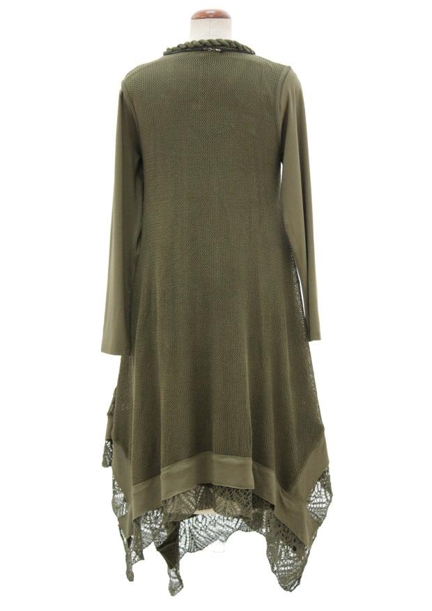 rochie-tricotata-asimetrica-cu-maneca-lunga-kaki-r270003-spate-992x1404